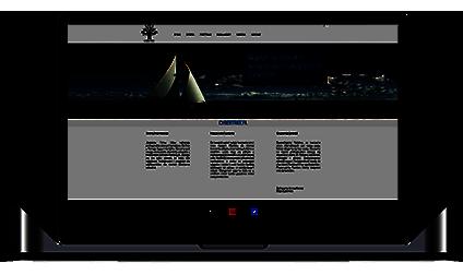 Laptop ze zdjęciem przykładowej tworzonej strony internetowej